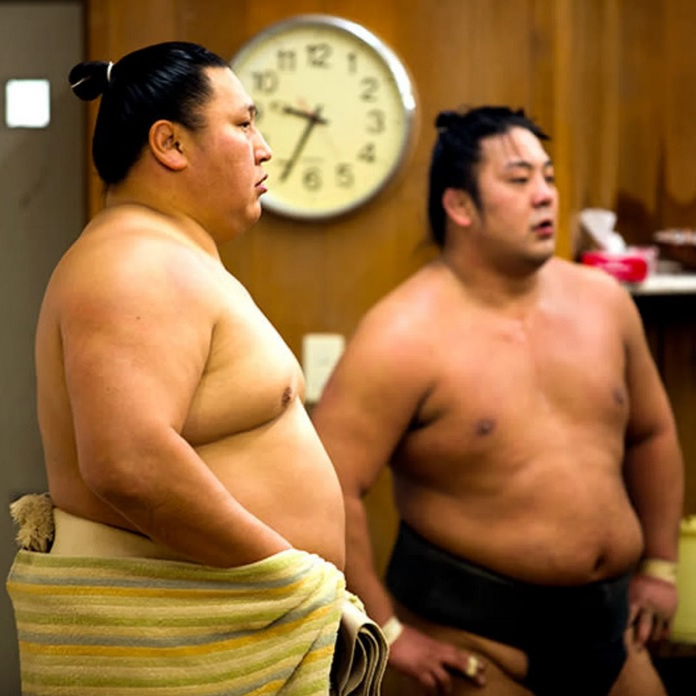 Sumo Training Stable The Real Japan