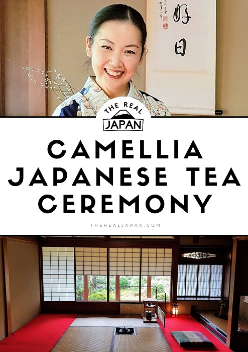 Camellia Japanese Tea Ceremony Kyoto The Real Japan Rob Dyer