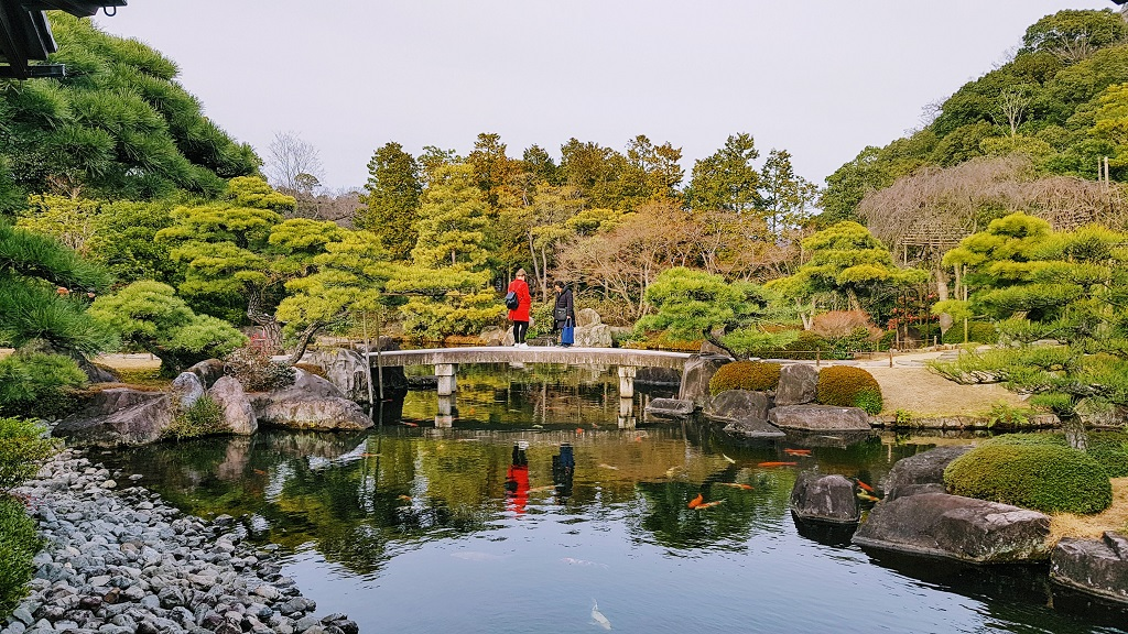 A Week In Kansai Himeji Kokoen Garden The Real Japan Rob Dyer