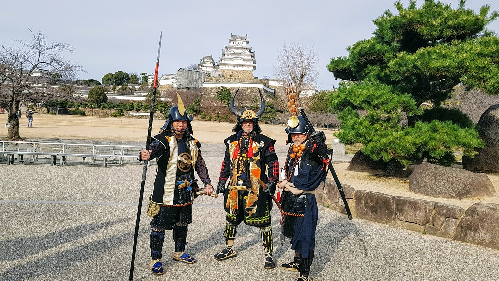 Himeji Castel Samurai The Real Japan Rob Dyer