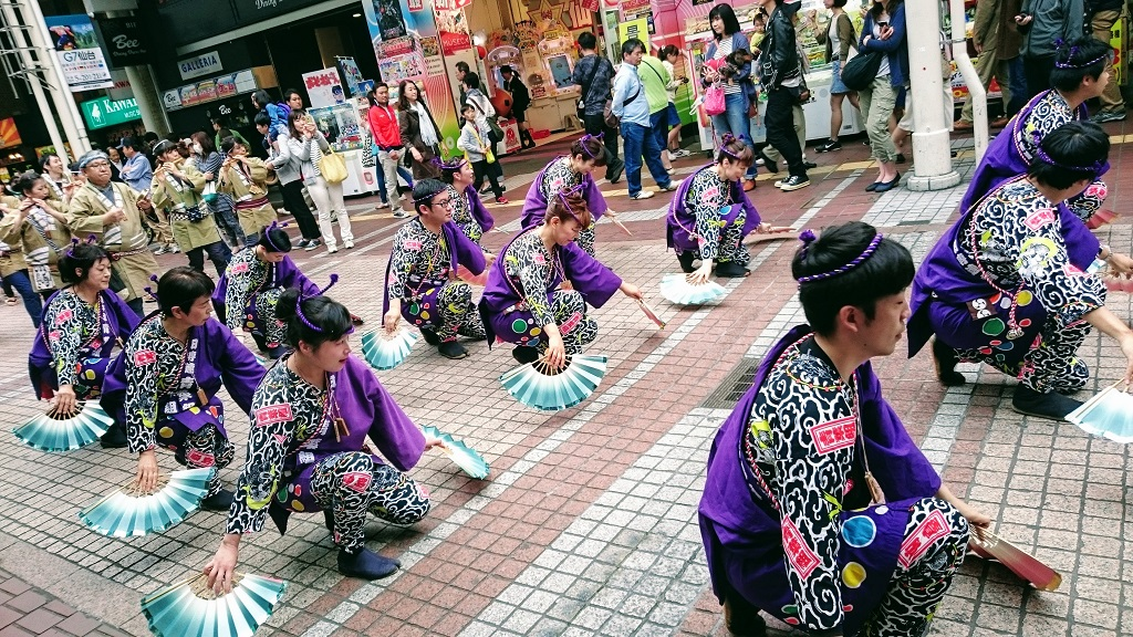 Awa Odori festival Sendai The Real Japan Rob Dyer