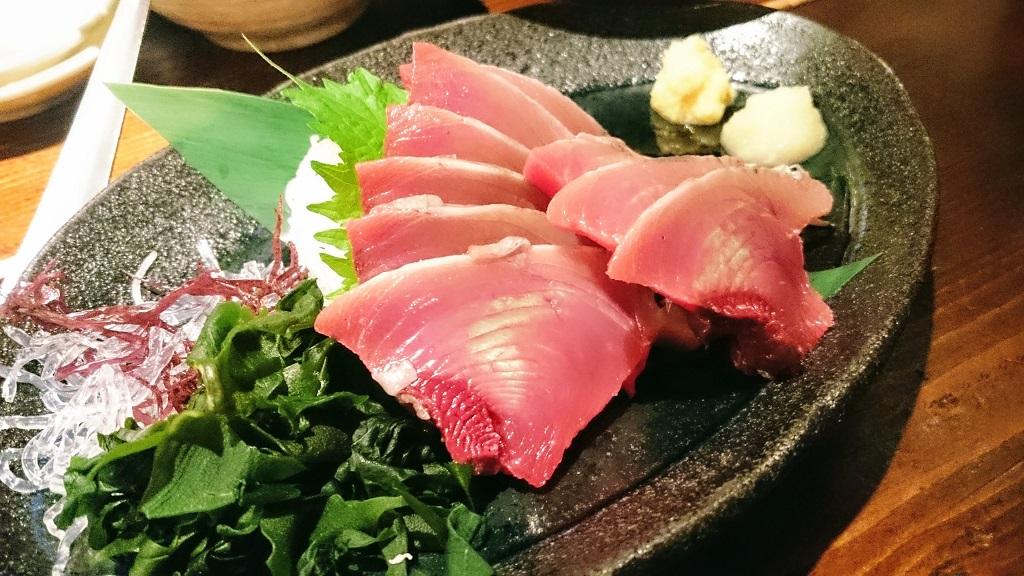 Bonito sashimi The Real Japan Rob Dyer
