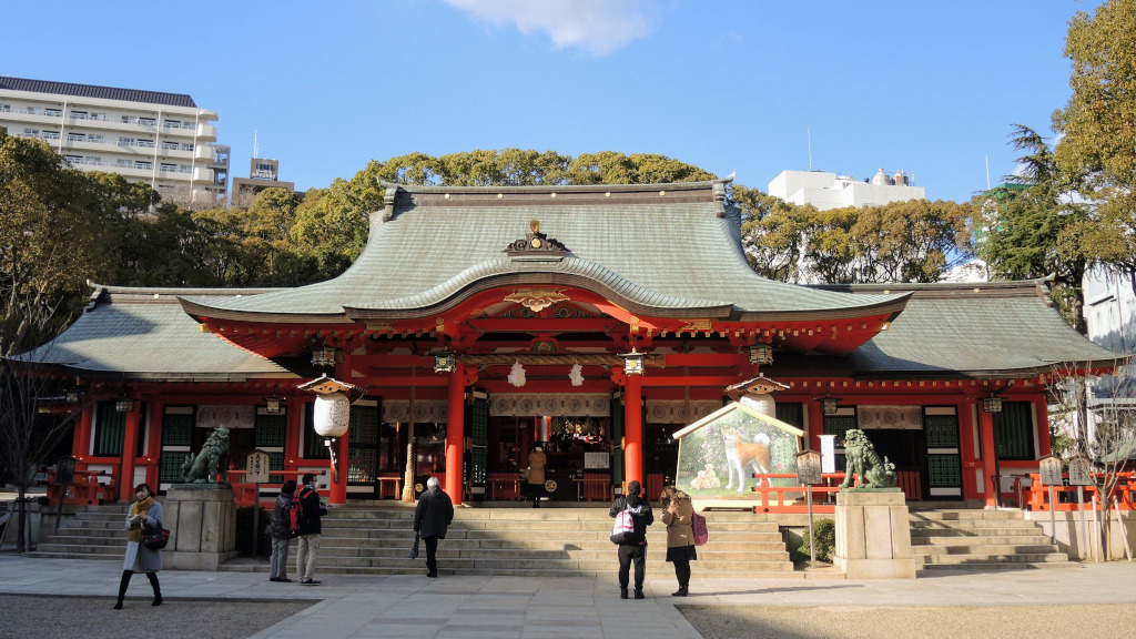 Ikuta Shrine Kobe The Real Japan Rob Dyer