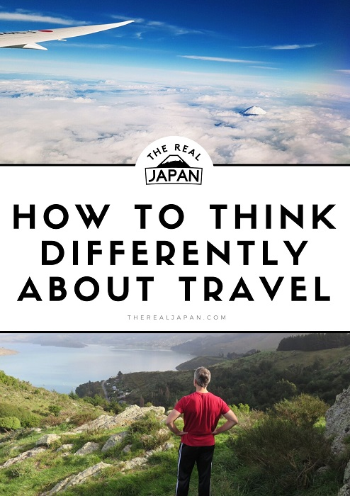 Think differently about travel Ryan Biddulph The Real Japan Rob Dyer