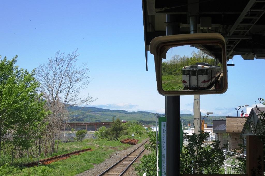 Shimokita train Meeting an itako The Real Japan