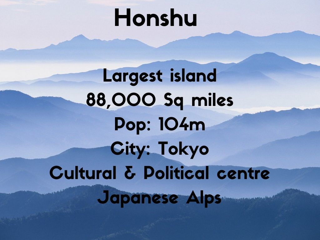 Honshu Guide The Real Japan Rob Dyer