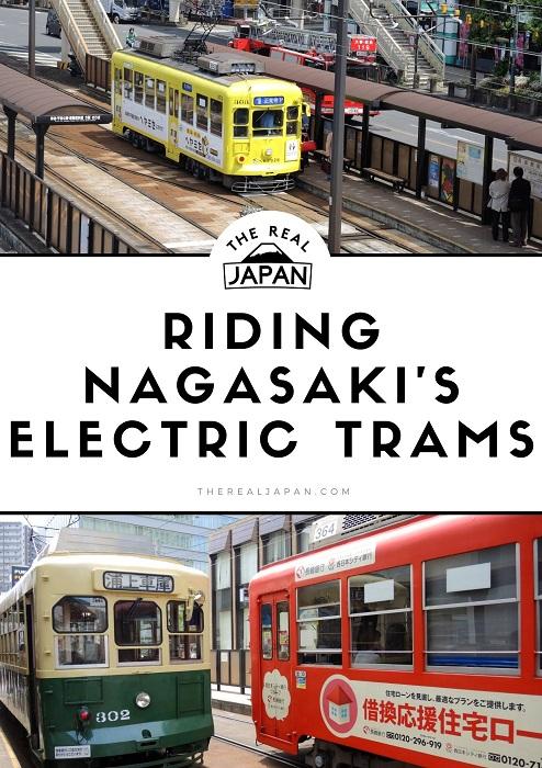 Riding Nagasaki's Electric Tramway (Streetcar) The Real Japan Rob Dyer