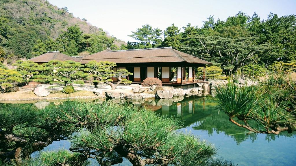 Ritsurin Garden Takamatsu Shikoku The Real Japan Rob Dyer