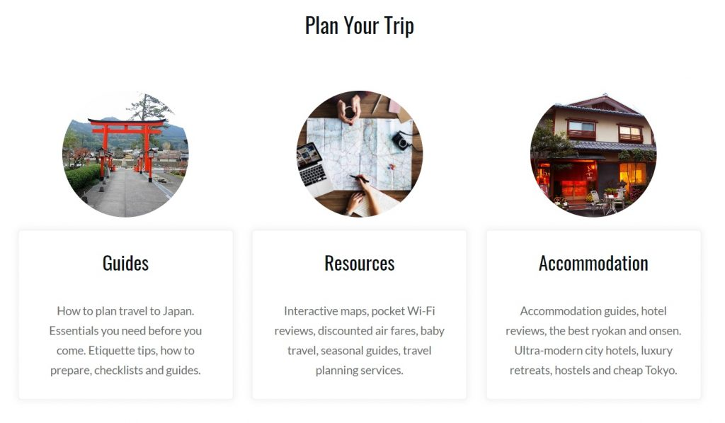 Planning - Plan Your Trip The Real Japan Rob Dyer