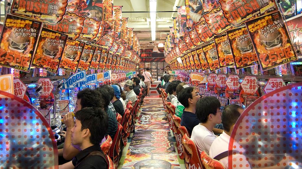 Gambling in Japan Akihabara Pachinko The Real Japan