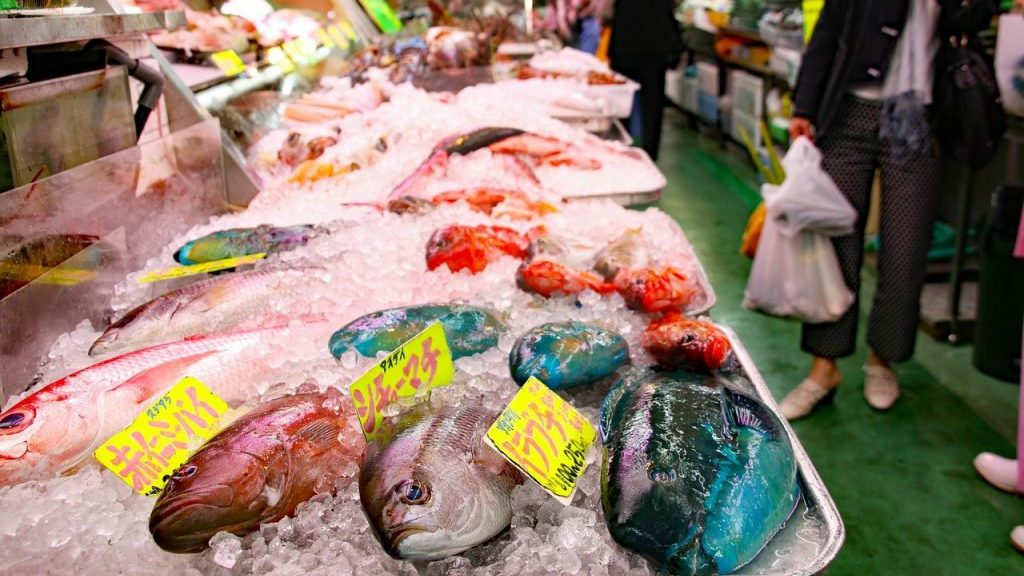 Makishi fish market Okinawa The Real Japan