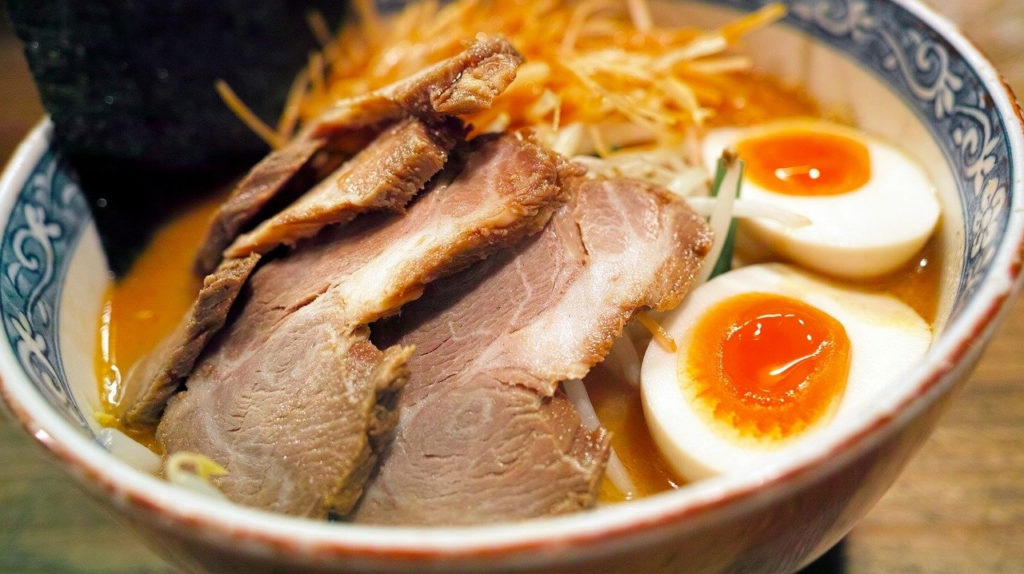 ramen with egg The Real Japan