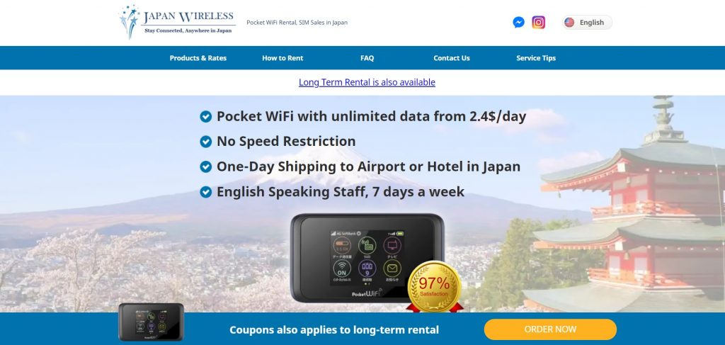 Japan Wireless site The Real Japan travel resources