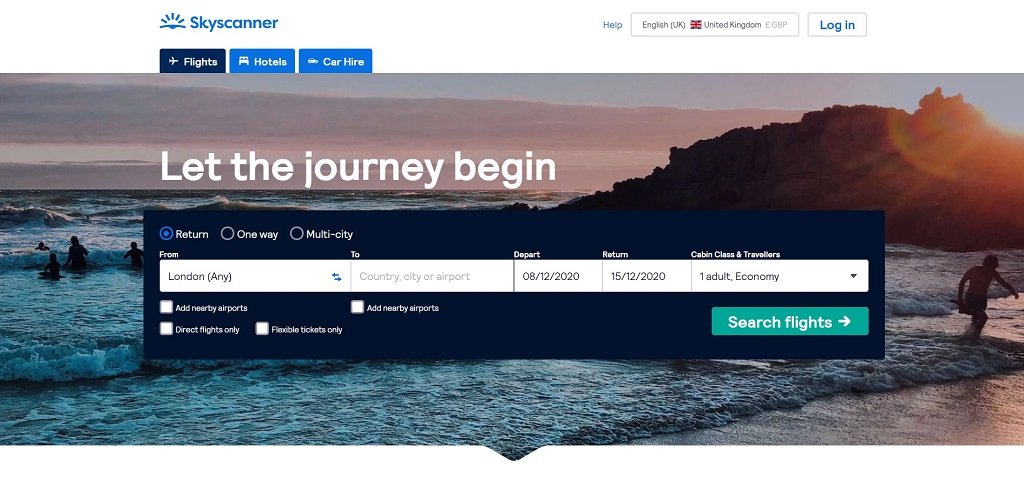 skyscanner site The Real Japan travel resources
