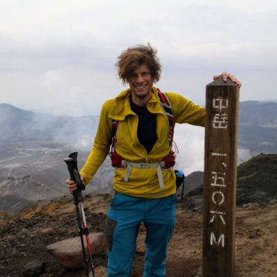 Wes Lang hiking in Japan The Real Japan