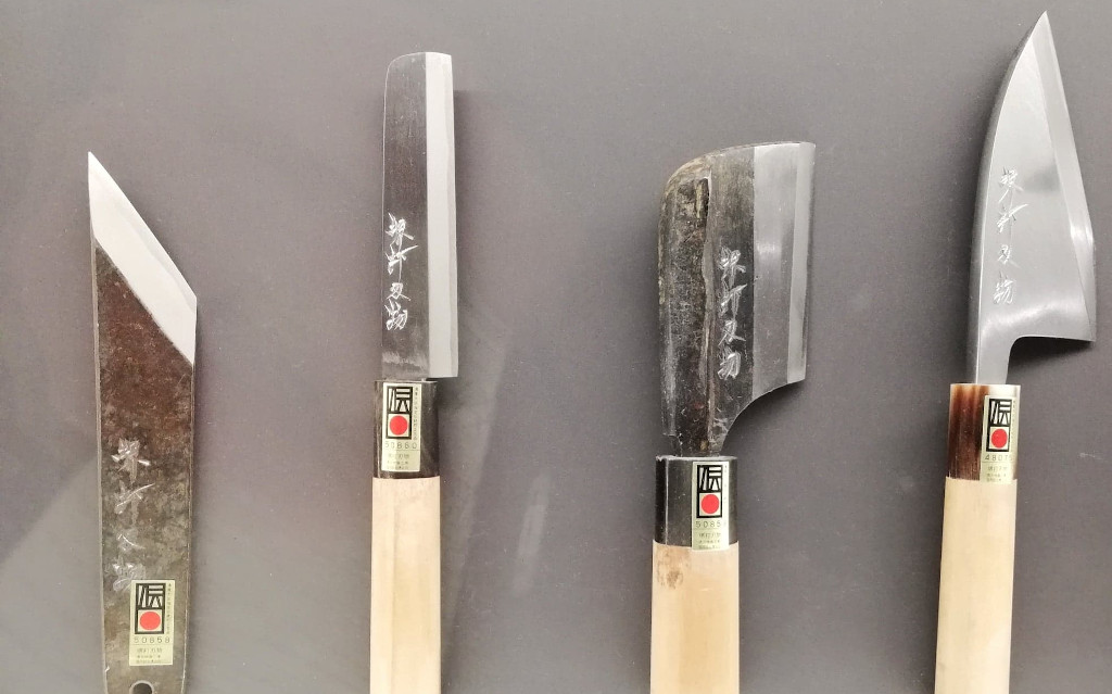 Japanese Knives Eric Chevallier The Real Japan