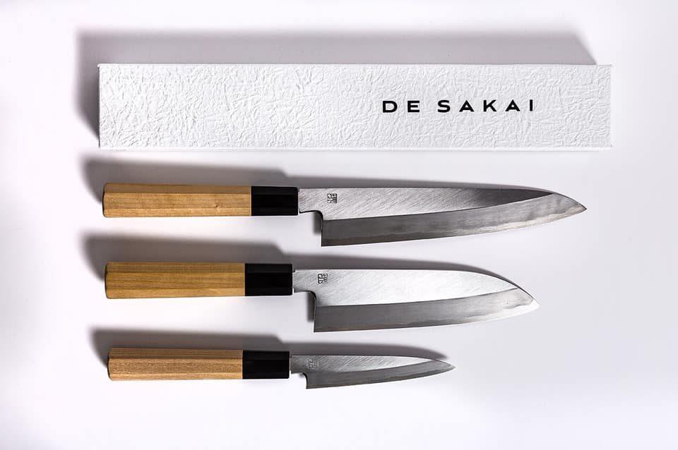 Japanese knives DeSakai brand Eric Chevallier The Real Japan