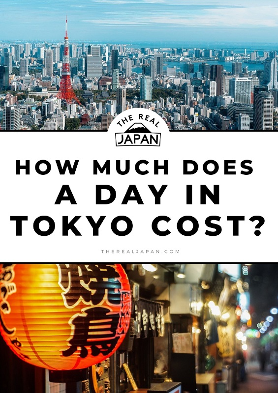 How Much Does A Day In Tokyo Cost The Real Japan