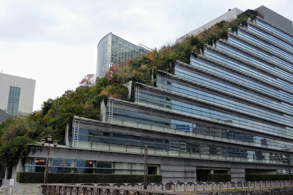 ACROS building Fukuoka Kyushu The Real Japan Rob Dyer