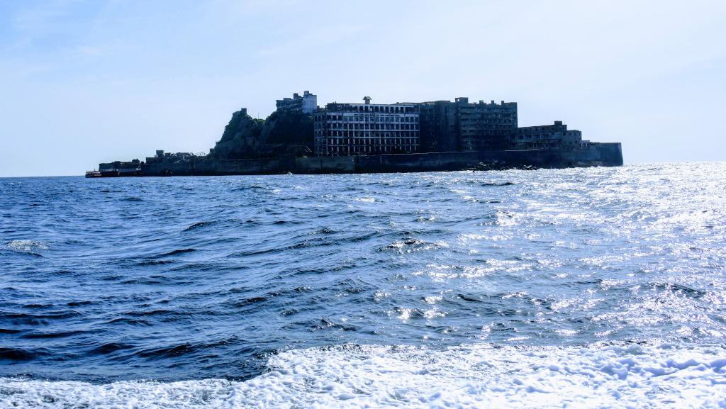 Hashima Island aka Gunkanjima Kyushu The Real Japan Rob Dyer