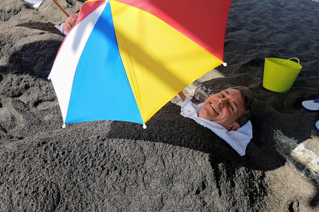 Ibusuki sand bathing Kyushu The Real Japan Rob Dyer