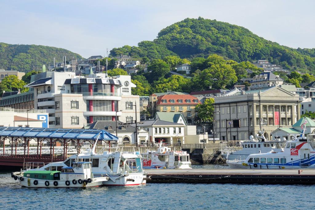 Nagasaki harbour Kyushu The Real Japan Rob Dyer