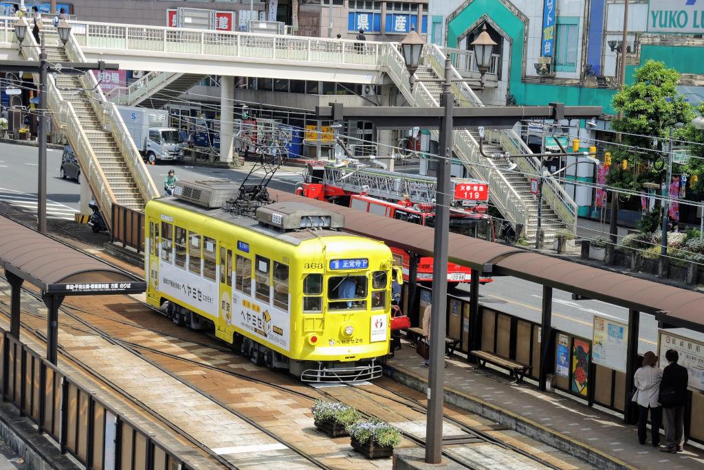 Nagasaki tram Kyushu The Real Japan Rob Dyer