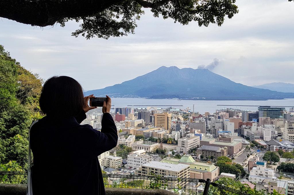 Sakurajima from Kagoshima Kyushu The Real Japan Rob Dyer