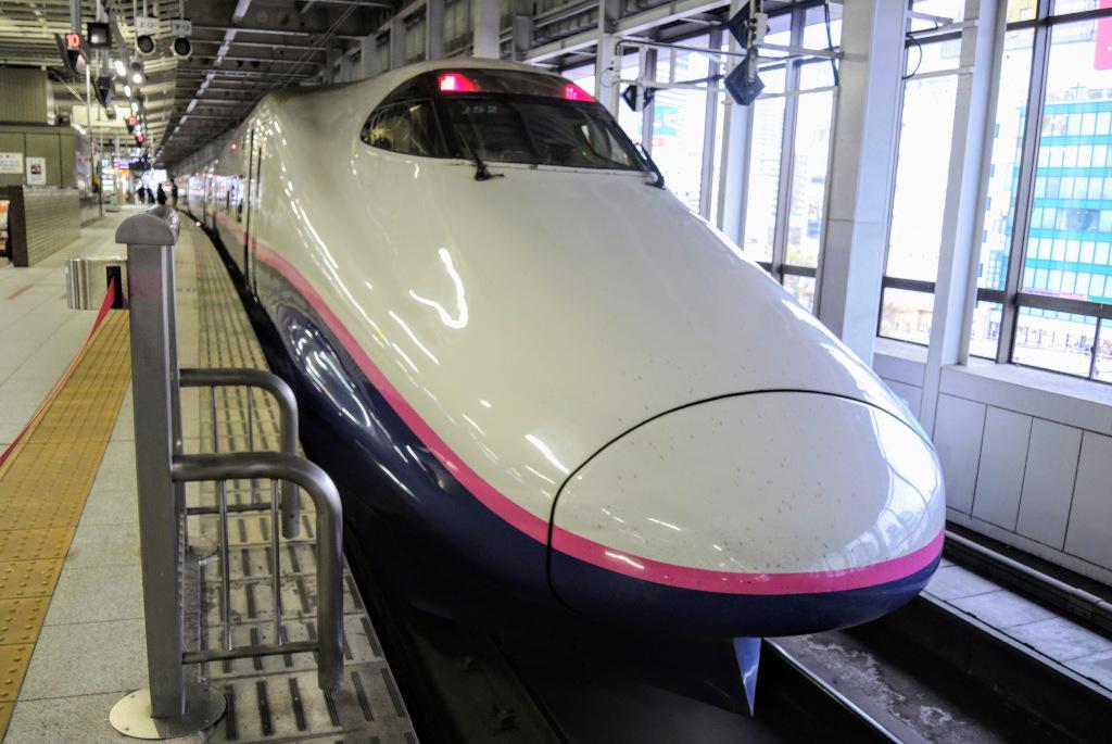 E2 Toki shinkansen The Real Japan Rob Dyer