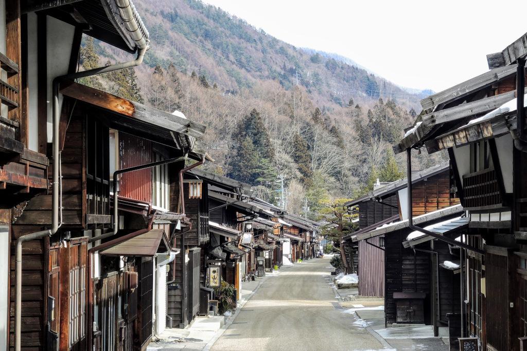 Narai-juku street The Real Japan Rob Dyer