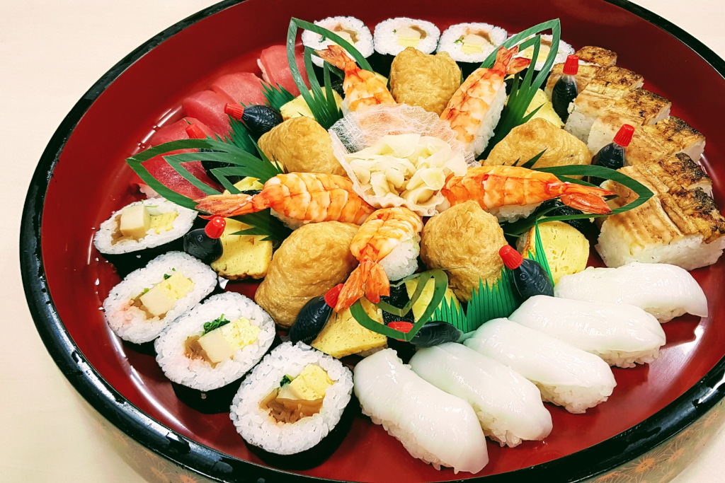 sushi platter The Real Japan Rob Dyer