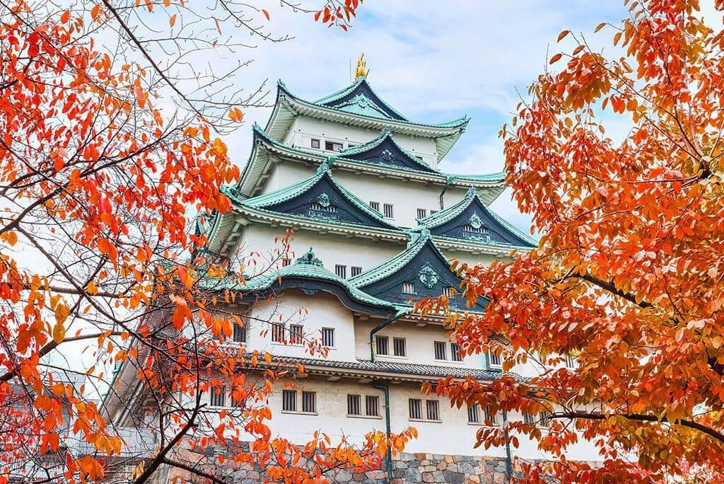 Nagoya Castle autumn  Nagoya city guide The Real Japan - Elisabeth Llopis